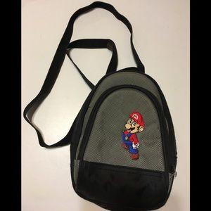 Nintendo Mario small backpack adjustable straps